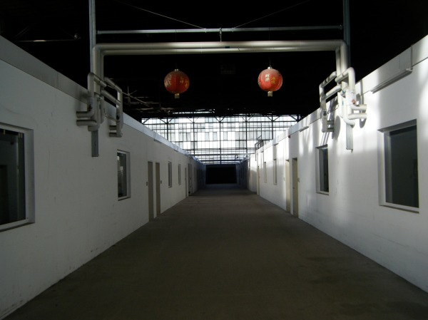 A vacant hall