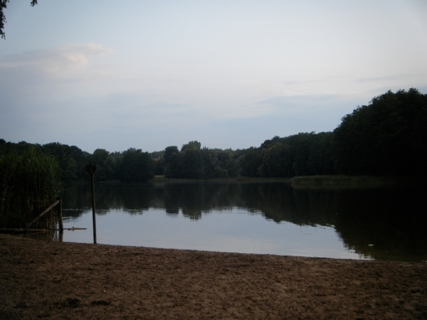 Evening at the Grunewaldsee