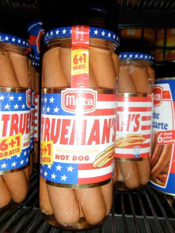 True Man's American Style Hot Dog's