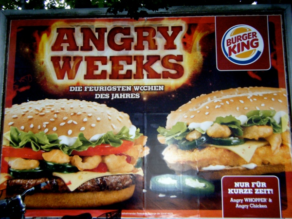 Angry Whopper, Angry Chicken