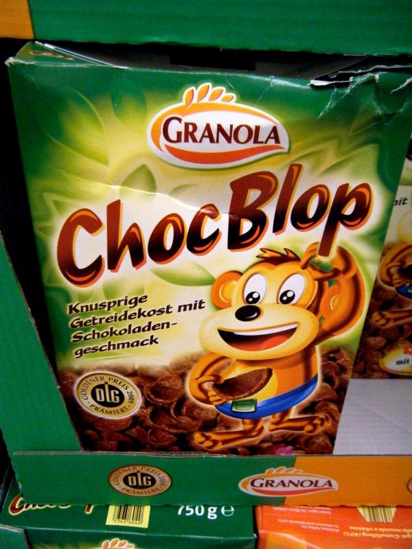 DLC Award Winning Granola Brand Choc Blop